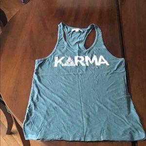 Spiritual Gangster Karma Racerback Tank, M